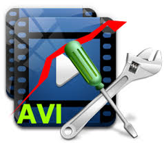 Repair damaged AVI files